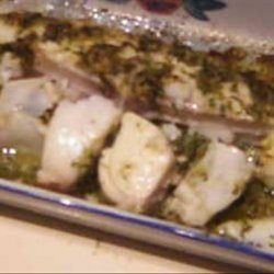 Broiled Halibut With Lemon and Herbs recipe