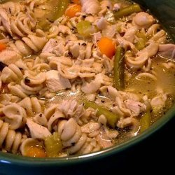 Grandma's Homemade Chicken Noodle Soup recipe