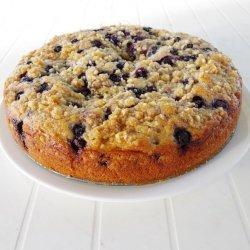 Blueberry Almond Coffee Cake recipe