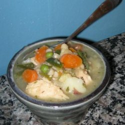 Vegetable Chicken Stew recipe