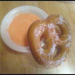 Easy Cheesy Pretzel Dip recipe