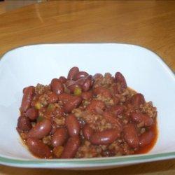Mom's Crock Pot Chili recipe