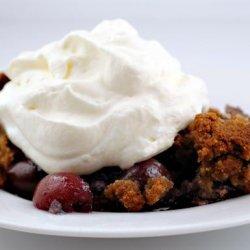 Cherry Blueberry Crumble recipe
