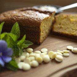White Chocolate Sweet Potato Cake recipe