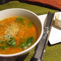 Lentil and Barley Soup recipe