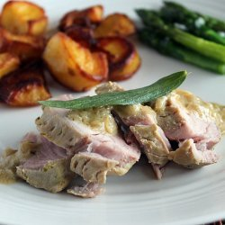 Pork Tenderloin with Mustard Sauce recipe