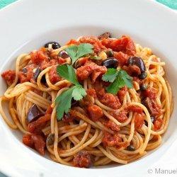 Spaghetti Alla Puttanesca recipe