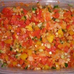 Fresh Pepper Salsa recipe