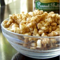 Peanut Butter Cinnamon Rice Cake Crumbles (Or Popcorn) recipe
