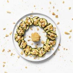 Cheesy Zucchini Coins recipe