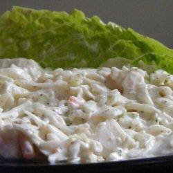 Quick Easy  lite  Coleslaw recipe
