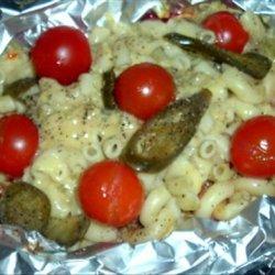 Spicy Sausage Pasta Casserole recipe
