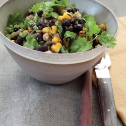 Roasted Corn and Black Bean Chili recipe