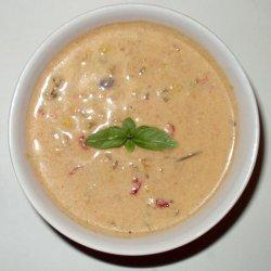 Peruvian Cream of Chicken Soup recipe