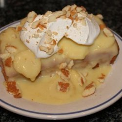 Cake Mix Doctor – Banana Pudding Cake recipe