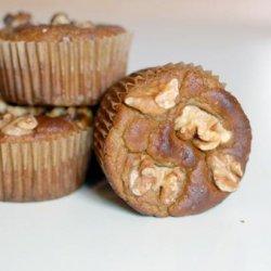 Gluten Free Banana Walnut Muffins recipe