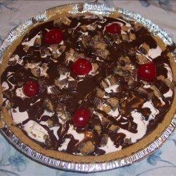 Chocolate Cherry Ice Cream Pie recipe