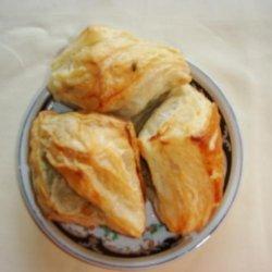Homemade Puff Pastry Snack recipe
