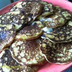 Applesauce Filbert Silver Dollar Pancakes recipe
