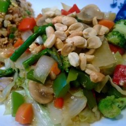 Weight Watchers Vegetable-Peanut Stir-Fry - 5 Points recipe