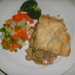 Chicken and Tarragon Pies recipe