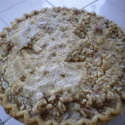 Perfect Pumpkin Pie With Streusel Topping recipe