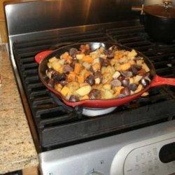 Fried Potato Casserole recipe