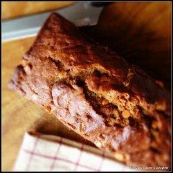 Butterscotch Banana Bread recipe