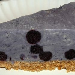 Blueberry Ice Cream Tart recipe