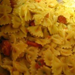 Pesto Bruschetta Pasta recipe