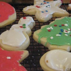 King Arthur Holiday Butter Cookies and Icing That Hardens recipe