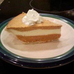 Farmhouse Triple-Layer Pumpkin Cheesecake Pie recipe