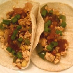 Tofu Scramble Tacos recipe