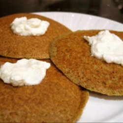 Artichoke Pancakes With Goat Cheese recipe