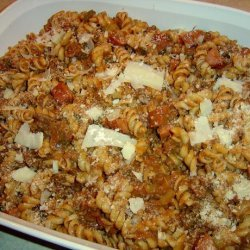 Dirty Cajun Pasta recipe