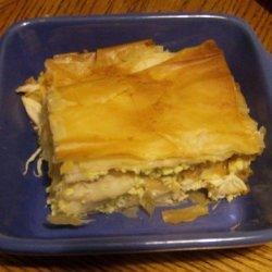 Moroccan Chicken & Egg Pie (Bisteeya/B'stilla) recipe
