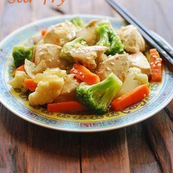Chicken and Vegetable Stir Fry recipe
