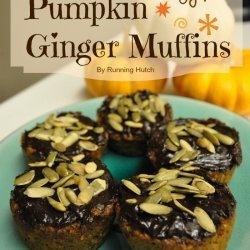 Pumpkin Ginger Muffins recipe