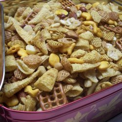 Cheer the Team on  Party Mix recipe