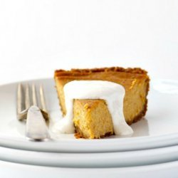 Hazelnut Pumpkin Pie recipe