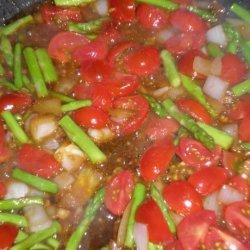 Cherry Tomato & Chicken Saute With Brown Rice recipe