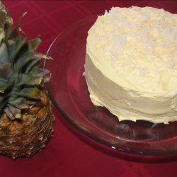 Hula Hula Cake W/ Cool Whip Frosting recipe