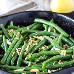 Green Beans With Almond Butter recipe