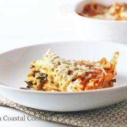 Creamy Spinach Lasagna recipe