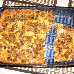 Mexican Noodle Lasagna recipe