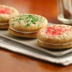 Christmas Sandwich Cookies recipe