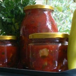 Canned Chunky Tomato and Vegetable Sauce recipe