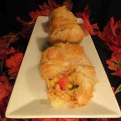 Chicken –Tomato and Sweet Corn Pockets #RSC recipe