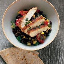 Cumin Chicken With Black Beans recipe