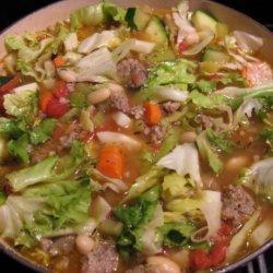 Sausage Ribollita Soup recipe